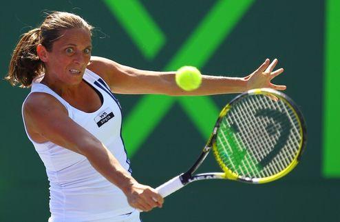 Барселона (WTA). Винчи вовремя опомнилась