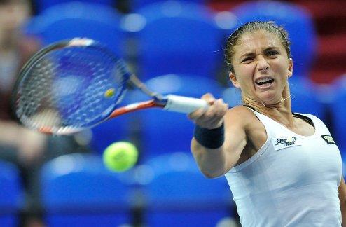 Барселона (WTA). Эррани пробилась в четвертьфинал, Винчи сошла с дистанции