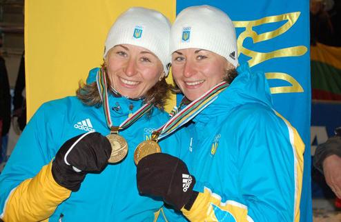 Биатлон. Сестры Семеренко попали в призы на Камчатке