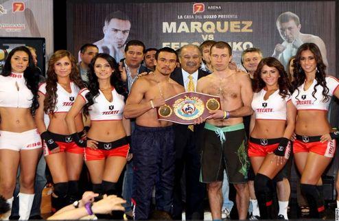 Федченко и Маркес показали одинаковый вес