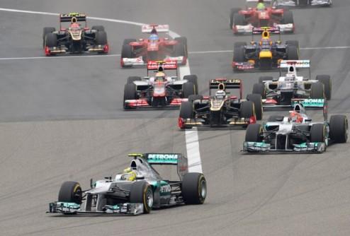 Формула-1. Гран-при Китая. Первая победа Росберга, неудавшийся прорыв Феттеля