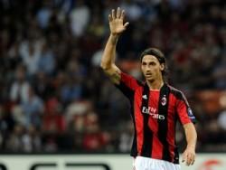 Ибрахимович счастлив в Милане