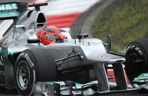 Формула-1. Мерседес пока не готов продлить контракт с Шумахером