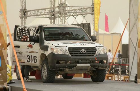 Третий этап гонки в Катаре мог стать последним для SIXT UKRAINE