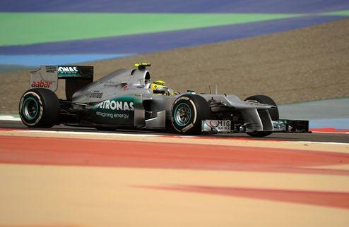 Формула-1. Гран-при Бахрейна. Росберг выигрывает третью практику