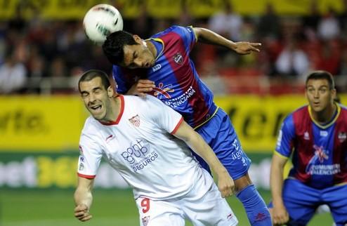 Удар по шансам Леванте на Лигу чемпионов