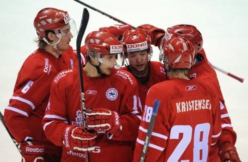 ЧМ. Дании помогут четыре игрока НХЛ