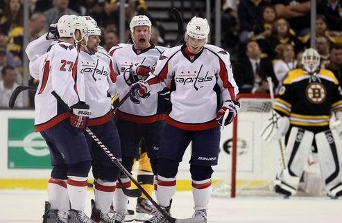 НХЛ. Вашингтон бьет Бостон и выходит в полуфинал конференции