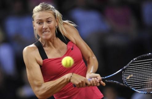 Штутгарт (WTA). Шарапова с боями выходит в финал