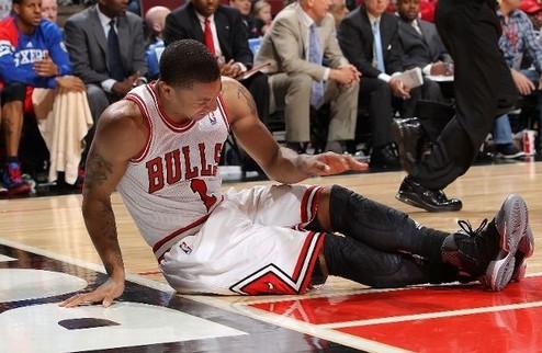 НБА. Роуз выбыл до конца сезона