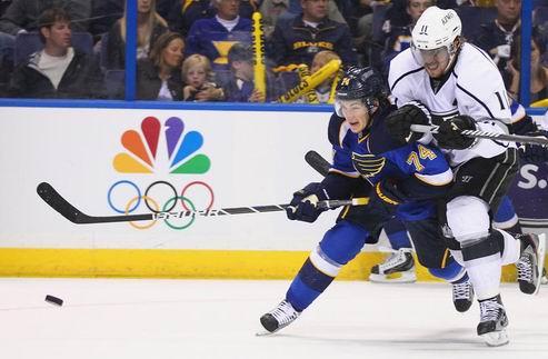 НХЛ. Лос-Анджелес разобрался с Сент-Луисом