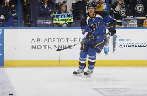 НХЛ. Сент-Луис: травма ведущего защитника