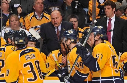 НХЛ. Тренер Нэшвилла разочарован игрой своих хоккеистов