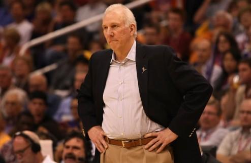 Грегг Попович — тренер года в НБА