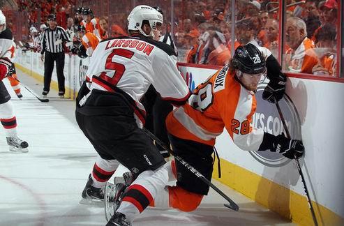 НХЛ. Филадельфия — Нью-Джерси: Дьяволы сравнивают счет в серии
