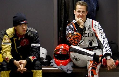 """Формула-1. Феттель """"защищает"""" Пирелли от Шумахера"""