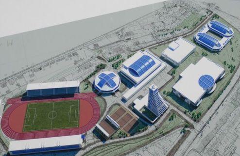 В Севастополе начали строить ледовую арену