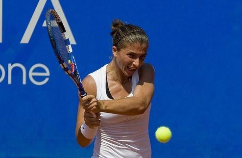 Будапешт (WTA). Эррани прошла Татишвили