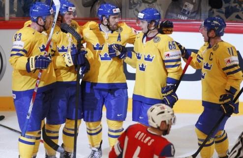 ЧМ. Швеция берет реванш