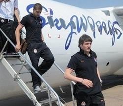 Шахтер и Металлург прибыли в Киев