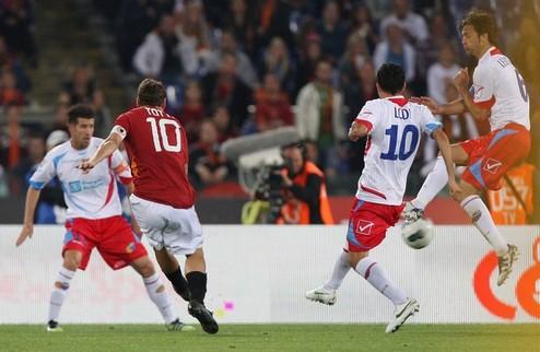 Рома теряет всякие шансы на Лигу чемпионов + ВИДЕО