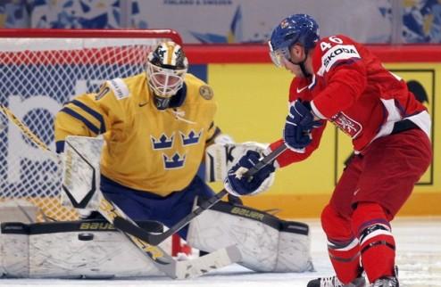 ЧМ. Швеция разбирается с Чехией