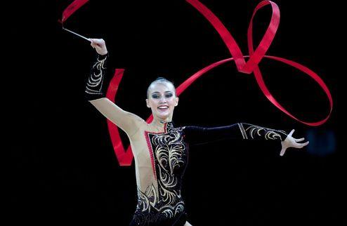 Художественная гимнастика. Три медали для Ризатдиновой