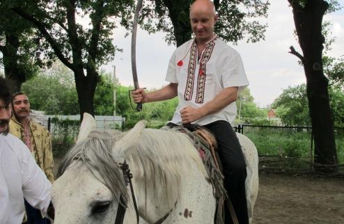 Вадима Нестерчука приняли в казаки
