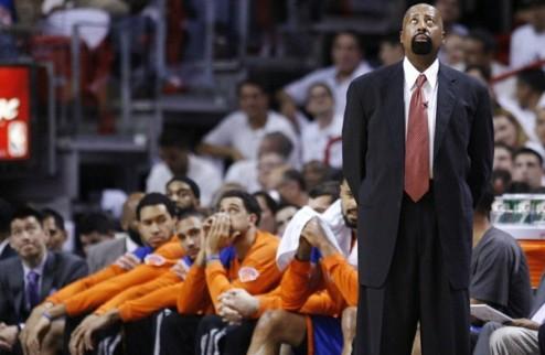 НБА. Никс хотят оставить Вудсона