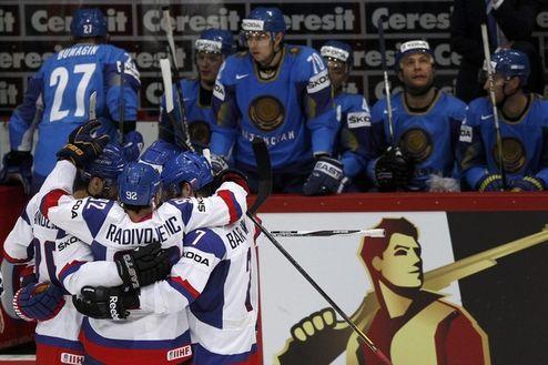 ЧМ. Словакия в эконом-режиме обыгрывает Казахстан