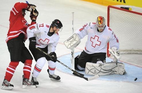 ЧМ. Канада с проблемами дожимает Швейцарию