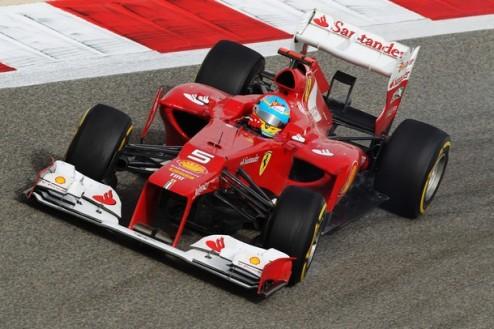 Формула-1. Гран-при Испании. Алонсо побеждает в первой практике