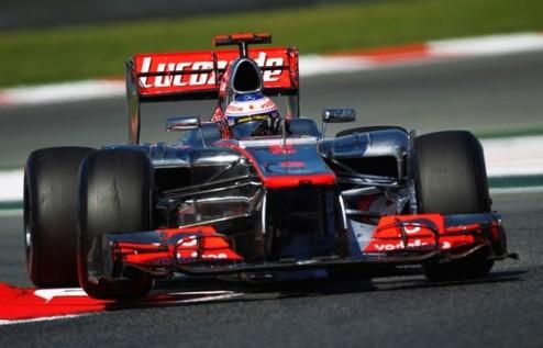 Формула-1. Гран-при Испании. Баттон выигрывает вторую практику
