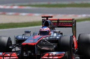 Формула-1. Баттон испытывает проблемы с шинами
