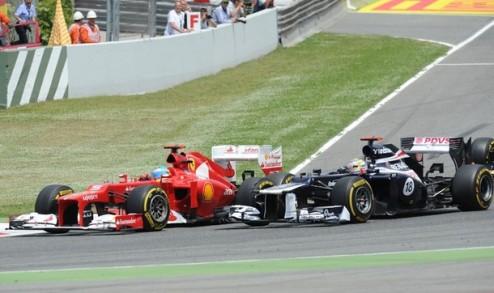 Формула-1. Гран-при Испании. Невероятный успех Мальдонадо