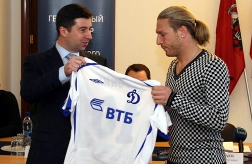 Воронин хочет разорвать контракт с Динамо