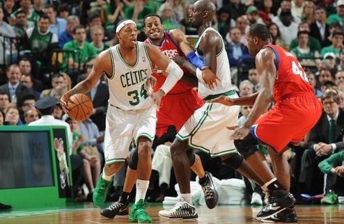 НБА. 76-е в гостях огорчили Бостон, Тандер уничтожили Лейкерс