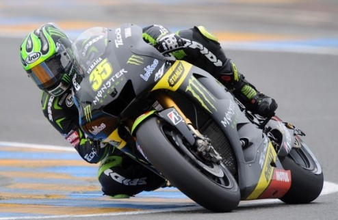 MotoGP. Гран-при Франции. Кратчлоу выигрывает разогрев