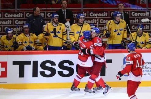 Чехия и Швеция встретятся в групповом турнире Олимпиады
