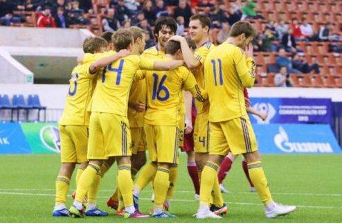 Молодежная сборная Украины разгромила албанцев