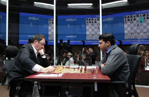 Шахматы. Ананд укрылся в крепости