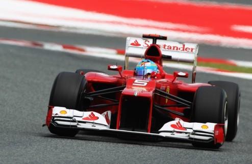 Формула-1. Гран-при Монако. Алонсо задает темп в первой практике