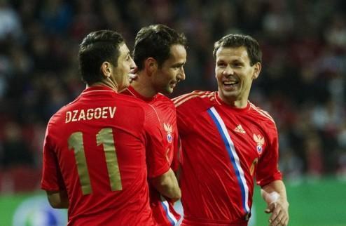 Заявка сборной России на Евро-2012