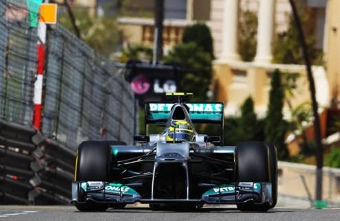 Формула-1. Гран-при Монако. Росберг выигрывает последнюю тренировку