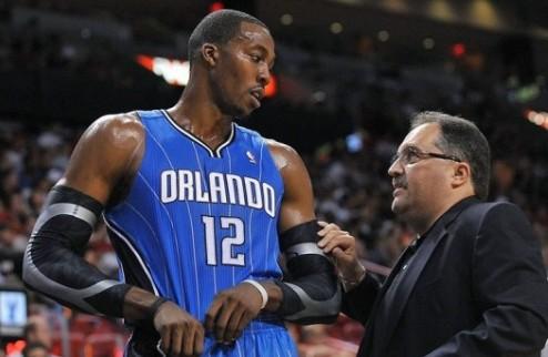 НБА. Ховард отрицает причастность к увольнению ван Ганди