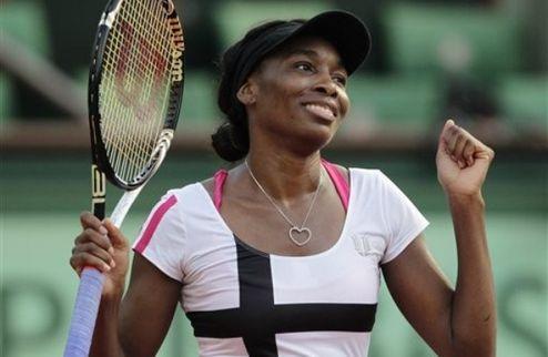 Ролан Гаррос (WTA). Непростой старт В. Уильямс