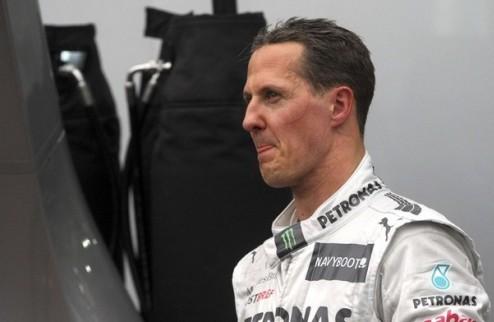 """Формула-1. Шумахер: """"Что я могу сказать..."""""""