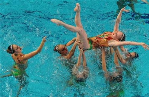 Синхронное плавание. ЧЕ. Еще одно серебро украинской сборной