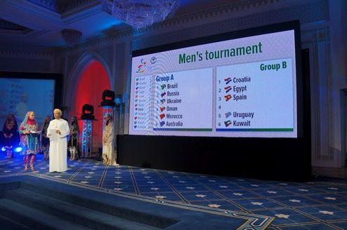 Пляжный гандбол. Мужская сборная Украины узнала соперников на ЧМ-2012