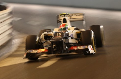 Формула-1. Перес: в Монако тяжело обгонять
